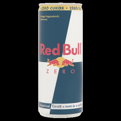 Kép Red Bull Zero szénsavas, koffein és arginin tartalmú ital édesítőszerekkel 250 ml