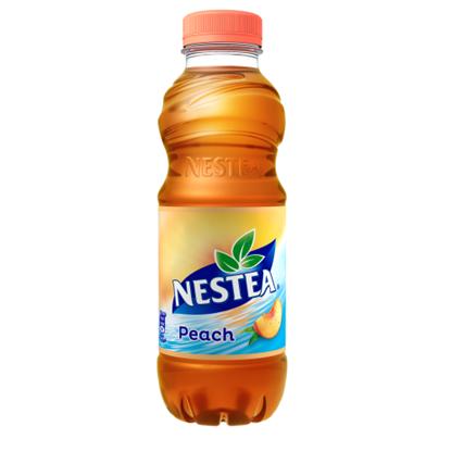 Kép Nestea őszibarack ízű tea üdítőital, cukrokkal és édesítőszerrel 0,5 l