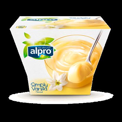 Kép Alpro UHT vanília ízű szójadesszert hozzáadott kalciummal és vitaminokkal 125 g