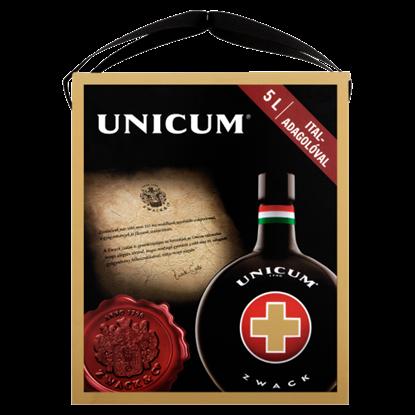 Kép Zwack Unicum gyógynövénylikőr italadagolóval 40% 5,0 l