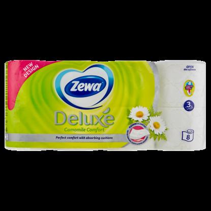 Kép Zewa Deluxe Camomile Comfort toalettpapír 3 rétegű 8 tekercs