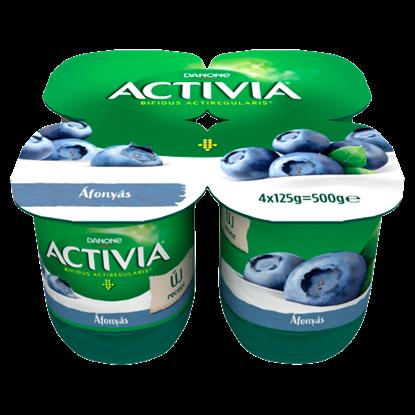 Kép Danone Activia élőflórás áfonyás joghurt 4 x 125 g (500 g)