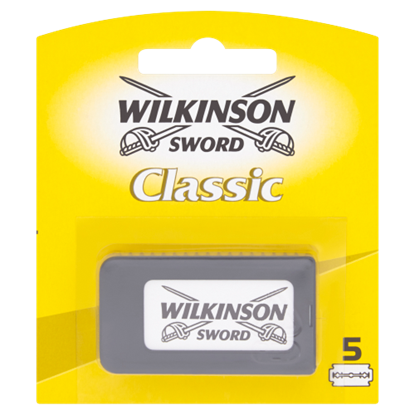 Kép Wilkinson Sword Classic hagyományos borotvapenge 5 db