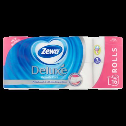 Kép Zewa Deluxe Delicate Care 3 rétegű toalettpapír 16 tekercs