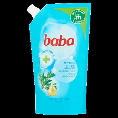 Kép Baba folyékony szappan utántöltő antibakteriális hatású teafaolajjal 500 ml