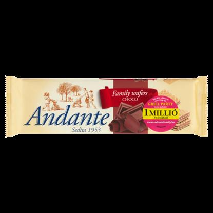 Kép Andante kakaós-csokoládés krémmel töltött ostya 130 g
