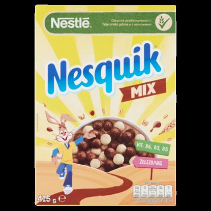 Kép Nesquik Mix kakaós és vaníliaízű, ropogós gabonapehely vitaminokkal, ásványi anyagokkal 415 g