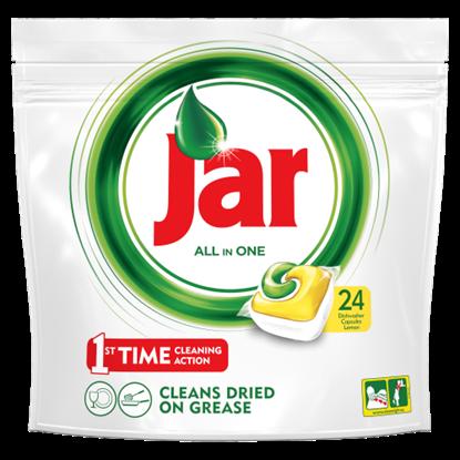 Kép Jar All In One Lemon Mosogatógép Kapszula 24 darabos kiszerelés