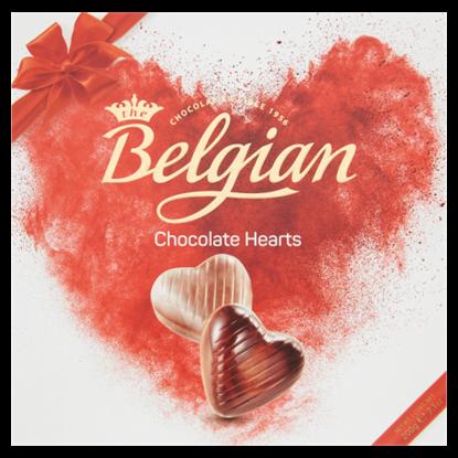 Kép Belgian Hearts belga csokoládé praliné 200 g