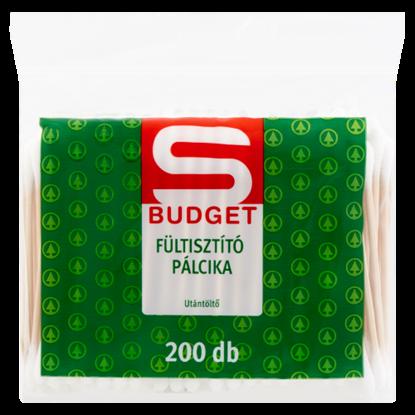 Kép S-Budget fültisztító pálcika utántöltő 200 db