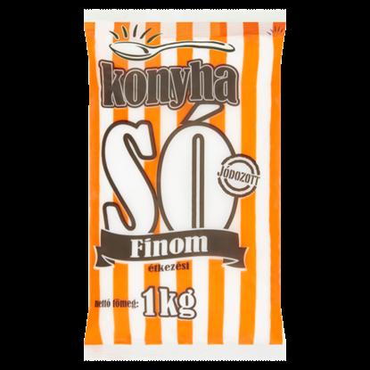 Kép Konyha jódozott finom étkezési só 1 kg