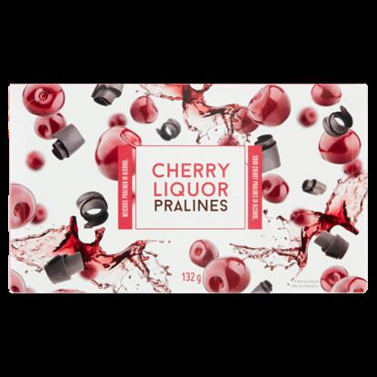 Kép Alkoholos meggydesszert étcsokoládé bevonattal 132 g