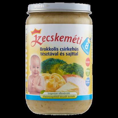 Kép Kecskeméti brokkolis csirkehús tésztával és sajttal 8 hónapos kortól 220 g