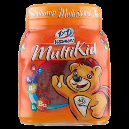 Kép 1x1 Vitamin Multi Kid gyümölcsízű étrend-kiegészítő gumivitamin 50 x 4,5 g (225 g)